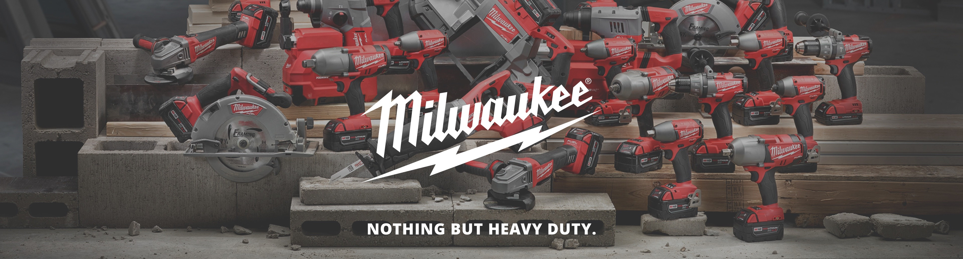 Milwaukee tools from Harrisons
